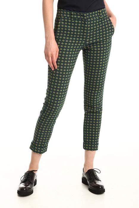 Jacquard trousers Diffusione Tessile