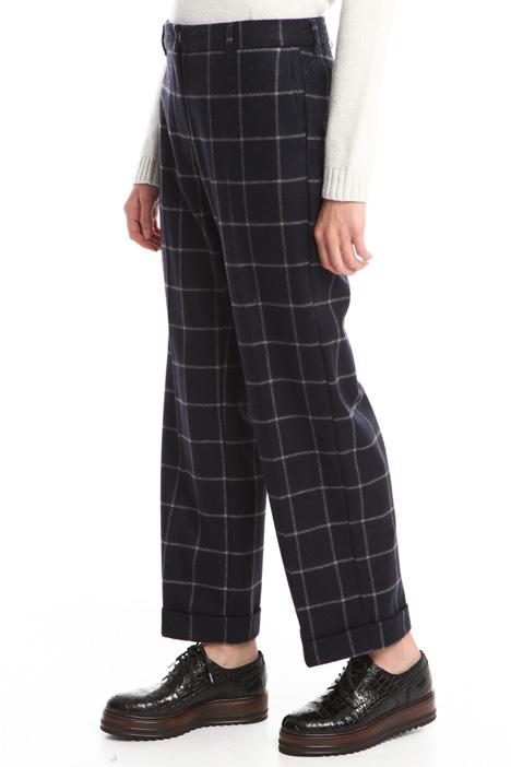 Pantaloni in panno leggero Diffusione Tessile