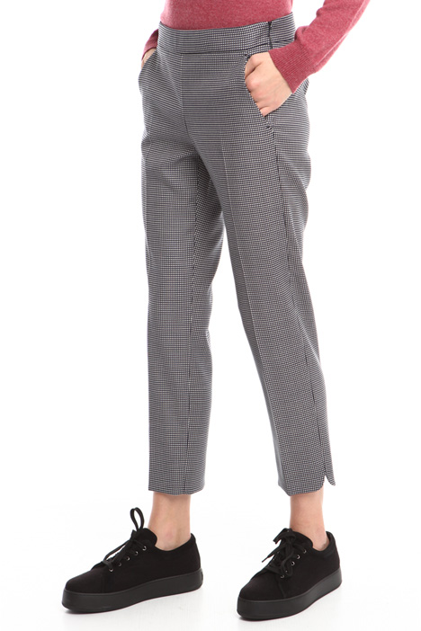 Wool jacquard trousers Diffusione Tessile