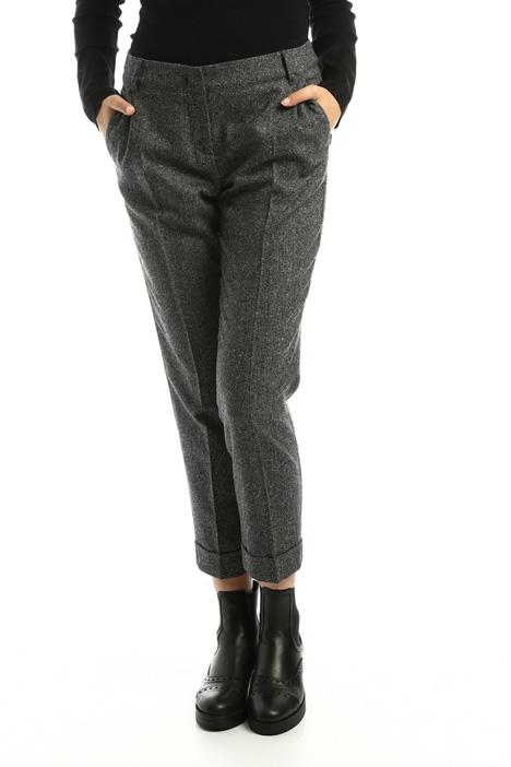 Pantaloni in tweed Diffusione Tessile