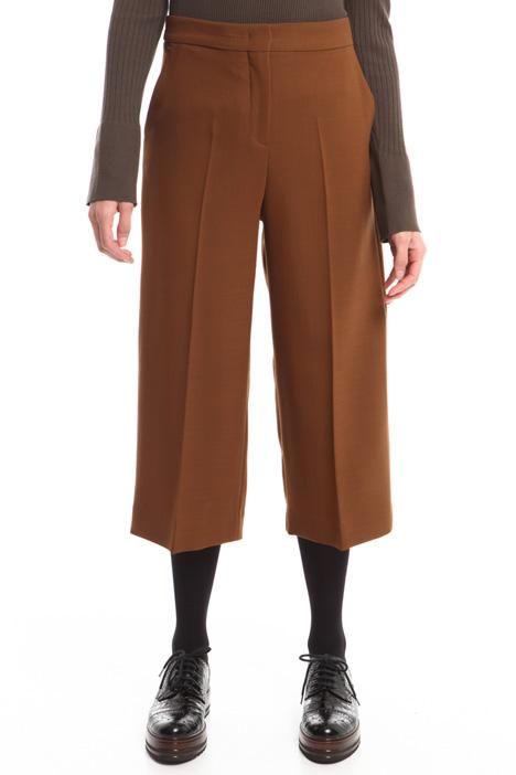 Pantaloni in tela di lana Diffusione Tessile