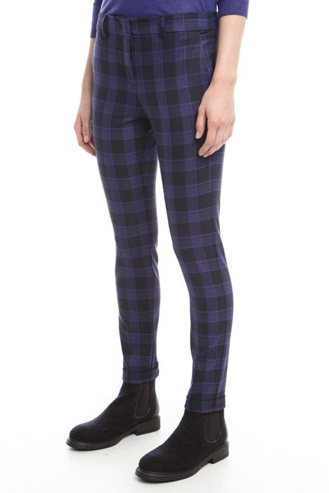 Pantaloni tinto filo fantasia Diffusione Tessile