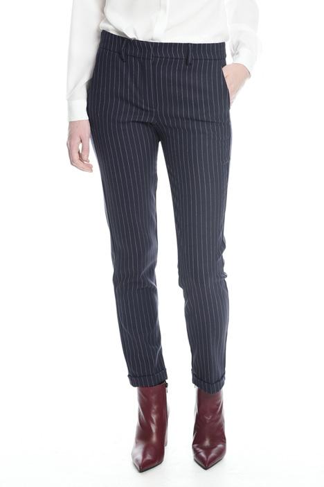 Pantaloni stretch tinto filo Diffusione Tessile