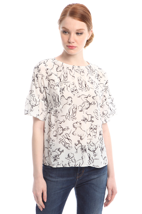 Printed blouse Diffusione Tessile