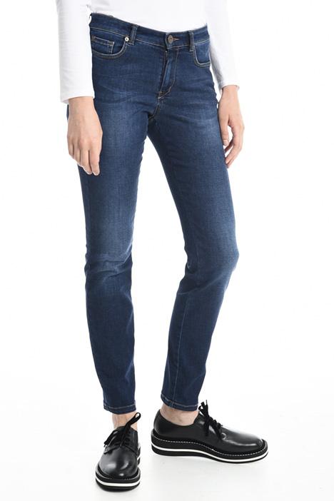 Pantaloni in denim aderenti Diffusione Tessile