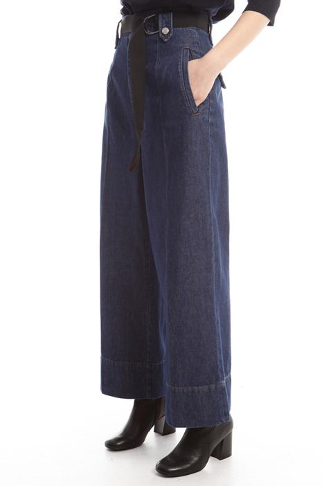 Jeans a palazzo Diffusione Tessile