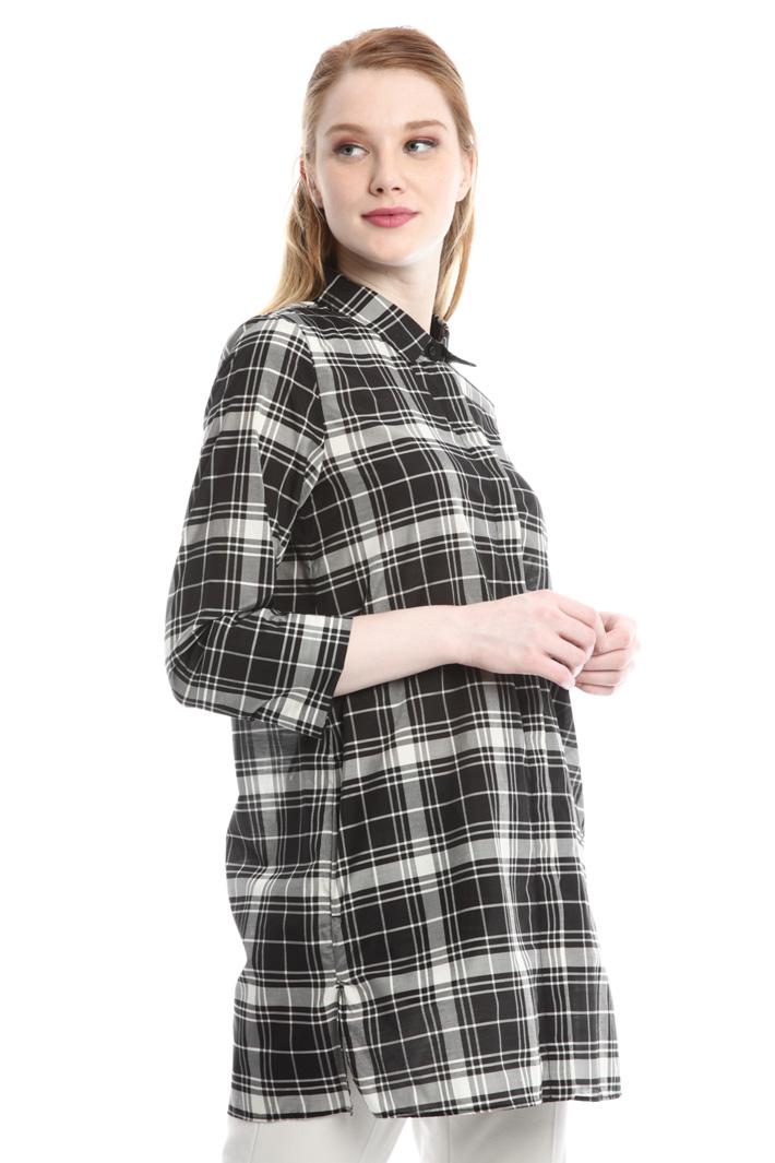 Camicia over in cotone Diffusione Tessile