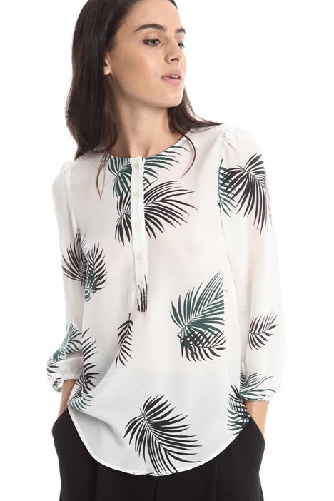 Blusa in seta stampata Diffusione Tessile