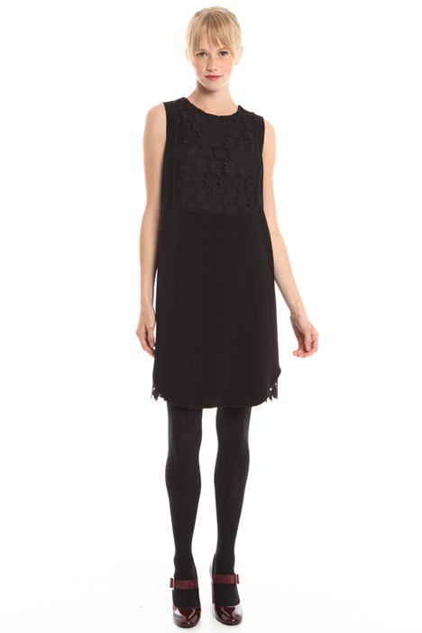 Macramé insert dress Intrend