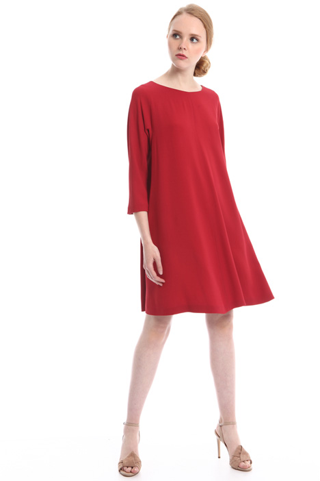 Flared dress with pockets Diffusione Tessile