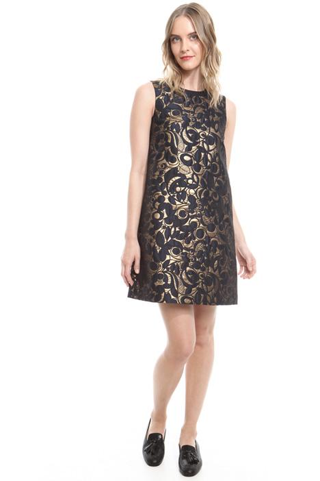A-line jacquard dress Diffusione Tessile