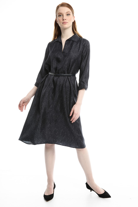 Silk chemisier dress Diffusione Tessile