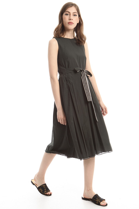Lightweight canvas dress Intrend