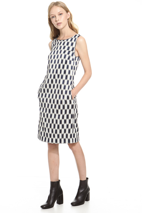 A-line dress with pockets Diffusione Tessile