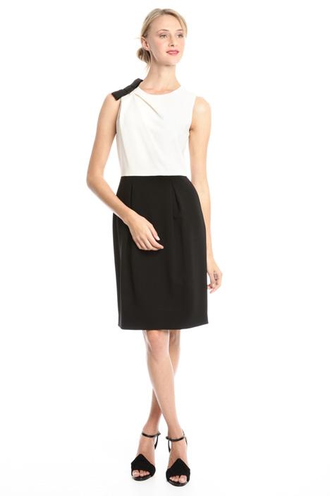 Two-tone sheath dress Intrend