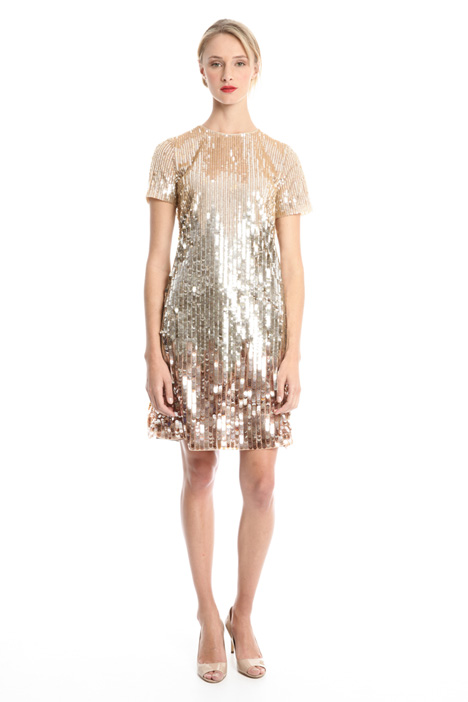 All-over sequin dress Intrend