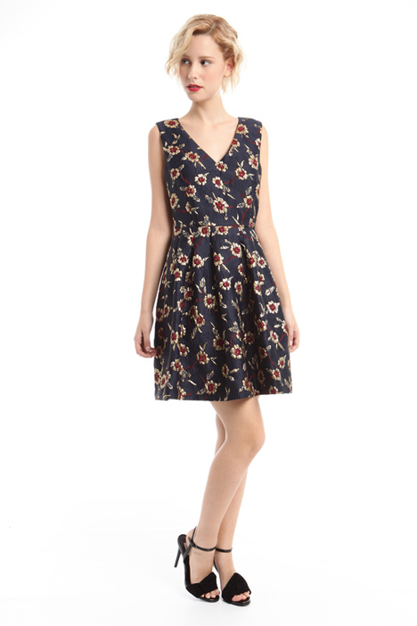 Jacquard princesse-line dress Intrend