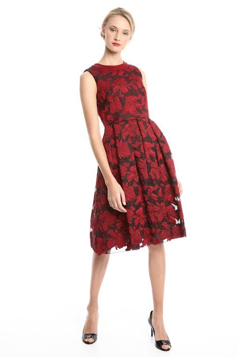 Organza princesse-line dress Diffusione Tessile