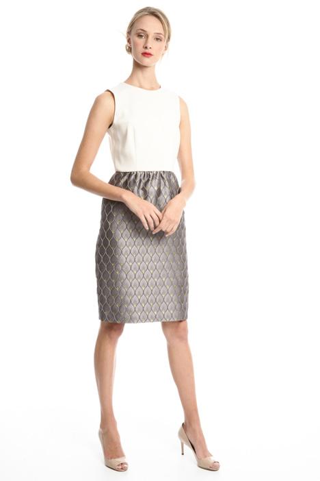 Jacquard princesse-line dress Diffusione Tessile