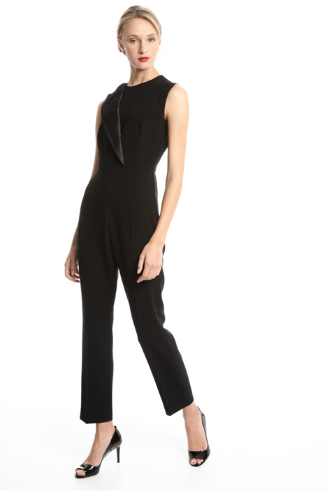 One-lapel jumpsuit Diffusione Tessile