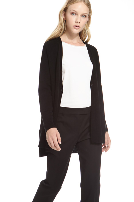 Wool and cashmere cardigan Diffusione Tessile
