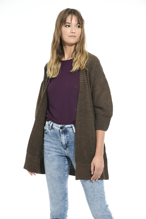 Oversized cardigan Diffusione Tessile