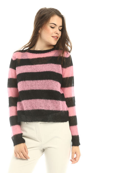 Mohair and alpaca sweater Intrend