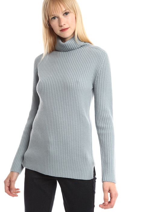 Wool turtleneck sweater Diffusione Tessile