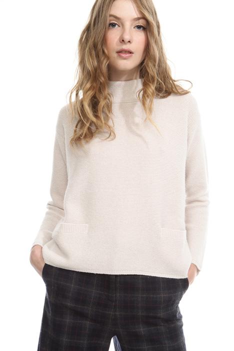 High-neck sweater Diffusione Tessile