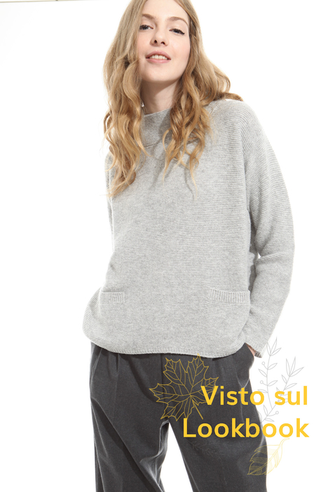 High-neck sweater Diffusione Tessile