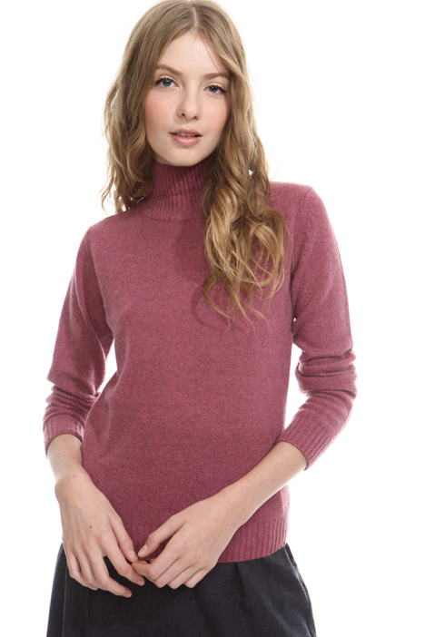Alpaca high neck sweater Diffusione Tessile