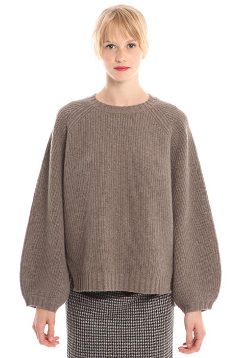 Puff sleeve sweater Diffusione Tessile