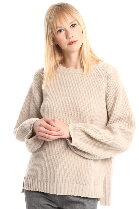 Puff sleeve sweater Diffusione Tessile