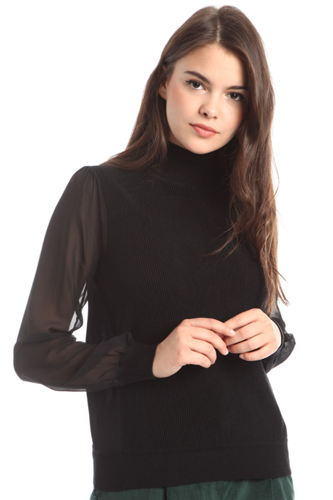 Silk sleeve sweater Diffusione Tessile