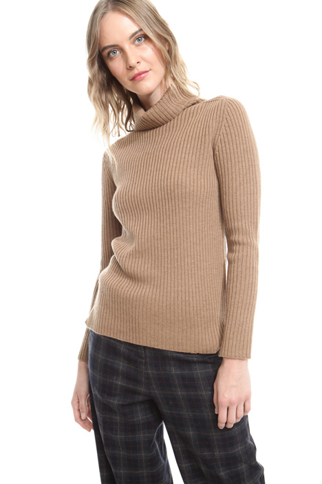 Pure wool turtleneck sweater Diffusione Tessile