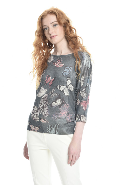 Lamé yarn sweater Diffusione Tessile