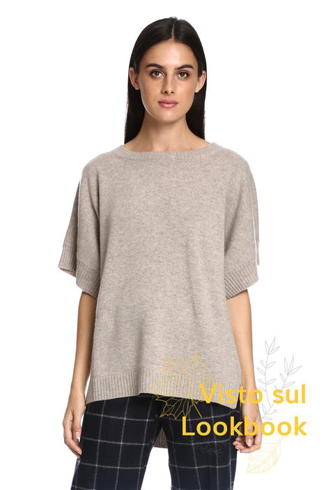Maglia ampia in lana Diffusione Tessile