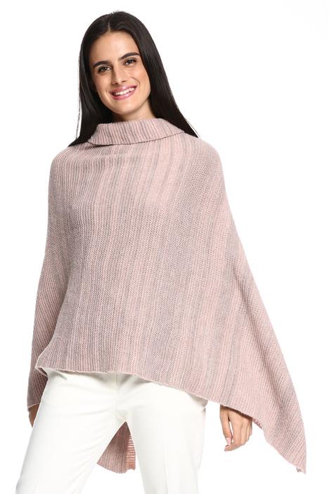 Poncho in maglia Diffusione Tessile