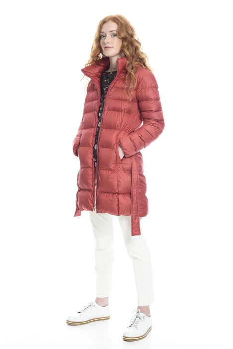 Belted padded coat Diffusione Tessile