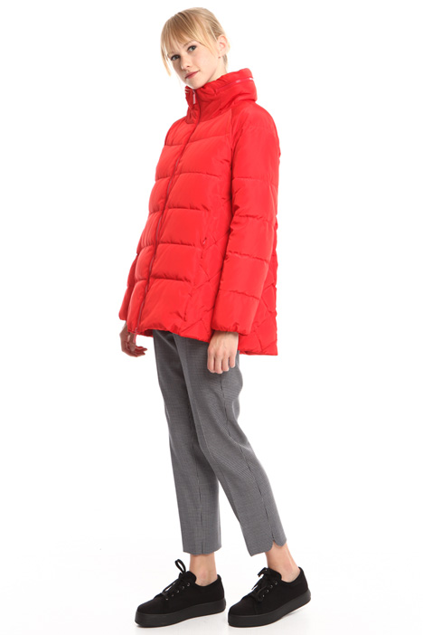 Flared padded jacket Diffusione Tessile