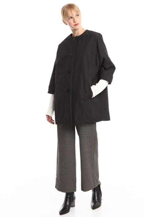 Kimono sleeve padded coat Diffusione Tessile