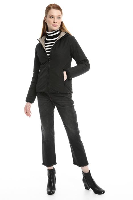 Short padded drawstring jacket Diffusione Tessile