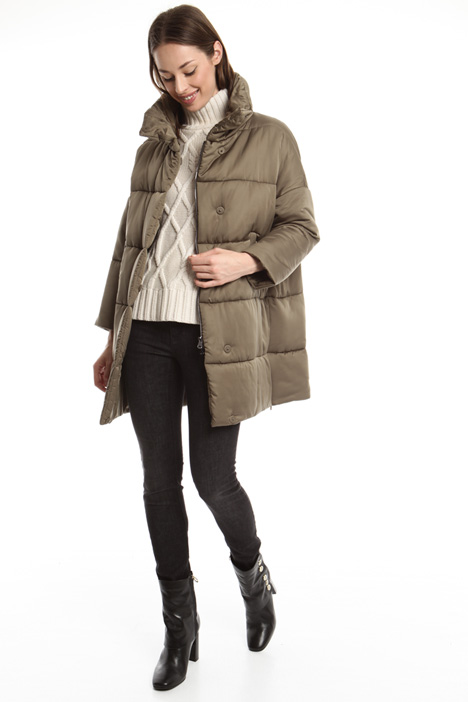 Oversized quilted coat Diffusione Tessile