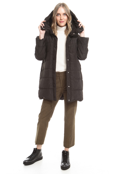 Hooded padded jacket Diffusione Tessile