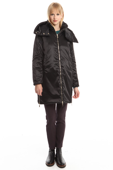 Long reversible padded jacket Diffusione Tessile
