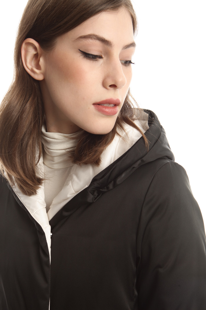 Reversible water-proof coat Diffusione Tessile