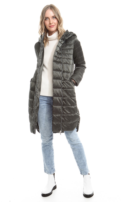 Hooded padded coat Diffusione Tessile