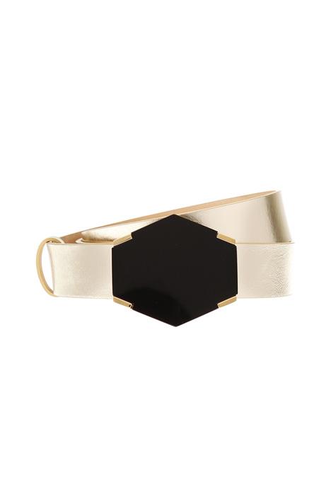 Laminated leather belt Diffusione Tessile