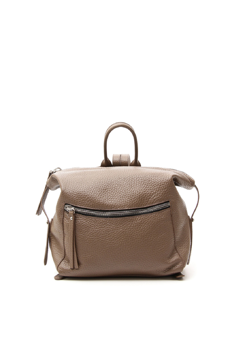 Backpack in tumbled leather Diffusione Tessile