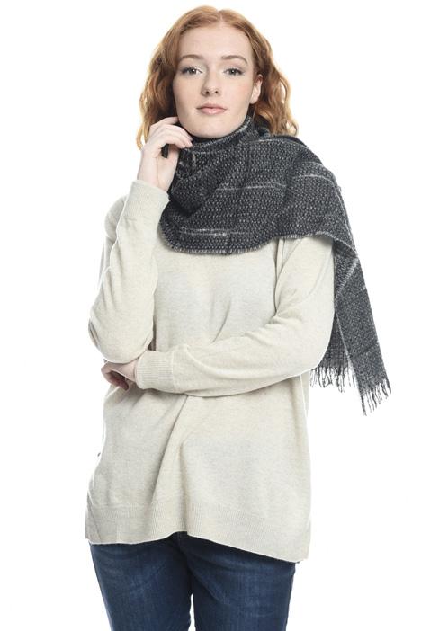 Sciarpa tressè in misto lana Diffusione Tessile